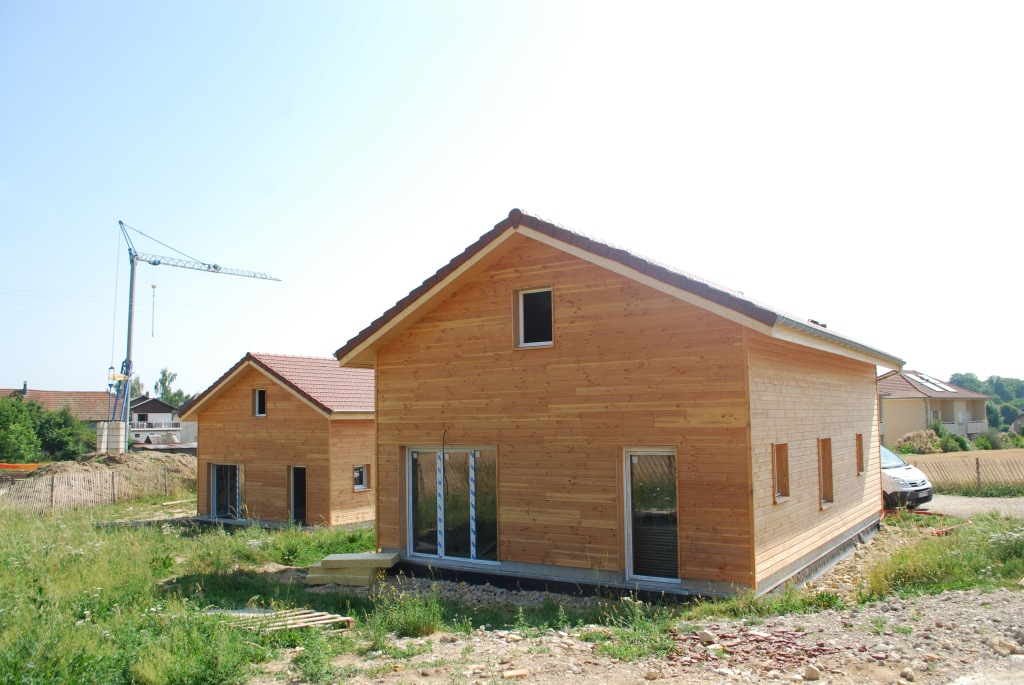Maison Ossature Bois Isere - Maison Ossature bois Finot Jacquemet