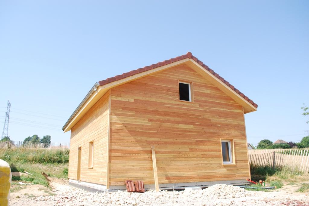 Maison Ossature bois Finot Jacquemet # Maison Ossature Bois Isere