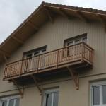 surelevation avec balcon isere