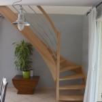 escalier surélévation isère