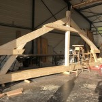 Surelevation charpente traditionnelle